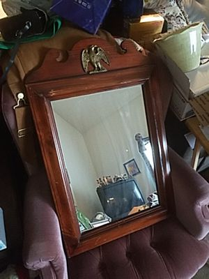 Antique Ethan Allen Eagle Themed Wall Mirror in great shape for Sale in Bel Air, MD