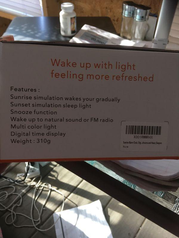 Wake Up Light Clock