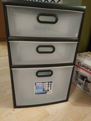3 drawer Sterilite plastic for Sale in Austin, TX