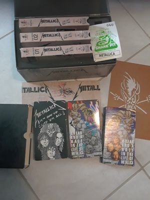 Metallica COLLECTIBLE box sets for Sale in Tampa, FL