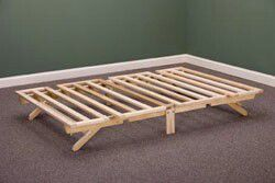 twin-size Stow-Away bed frame for Sale in Kensington, MD