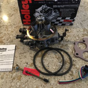 New Holley 502-4 TBI Twin Throttle Body Injector for Sale in Bothell, WA
