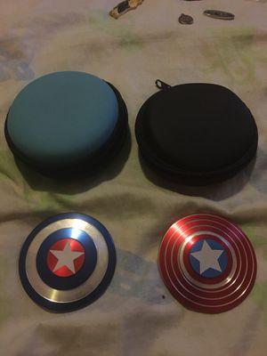 Captain America Shields litmited edition Fidget Spinner for Sale in San Juan Capistrano, CA