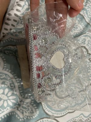 Princess crown and sash w stickers for Sale in Little Ferry, NJ