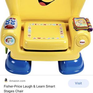 Fisher Price Laugh & Learn Smart Chair for Sale in Carson, CA