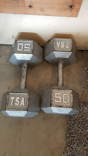 Weights - 50lbs for Sale in Puyallup, WA