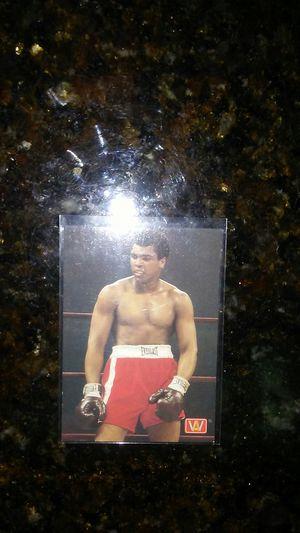 Muhammad Ali Boxing Card for Sale in BVL, FL
