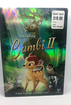 Disney's Bambi 2 DVD brand new for Sale in Corona, CA
