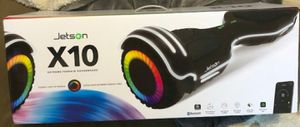 Jetson x10 Hoverboard - Brand New SEALED In Box for Sale in Modesto, CA