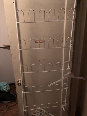 Behind door shoe rack for Sale in Salt Lake City, UT