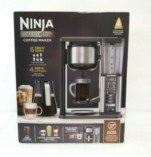 NEW Ninja Specialty Coffee Maker - Black/Stainless Steel CM401 for Sale in Chesapeake, VA