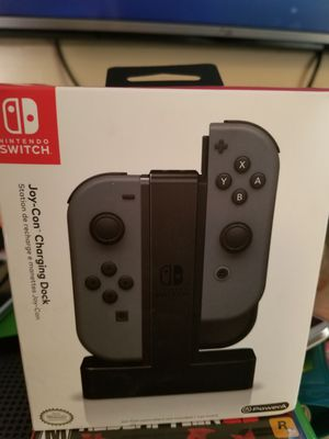 Nintendo switch joy con charger dock for Sale in Irving, TX