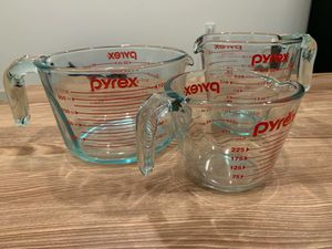 Pyrex 3 piece glass set for sale for Sale in San Francisco, CA