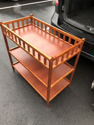 Baby changing table for Sale in Rockville, MD