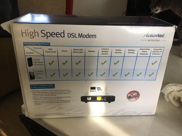 DSL Modem! Still in box!