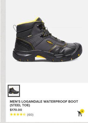 Keen steel toed waterproof work boots for Sale in Obetz, OH