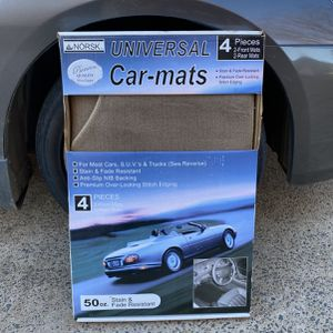 Universal Car Mats 4 Piece Set for Sale in Charlotte, NC