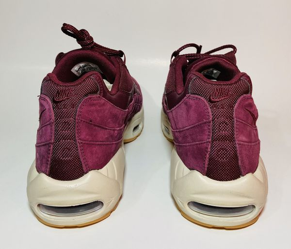 NEW Nike Air Max 95 Bordeaux Gum Bottom Men's Size 8.5