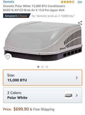 Dometic rv air conditioner for Sale in Deer Park, TX