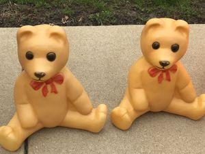 Teddy bear Christmas Blowmolds for Sale in Villa Park, IL