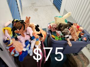 Beanie babies (85) for Sale in Brooklyn, NY