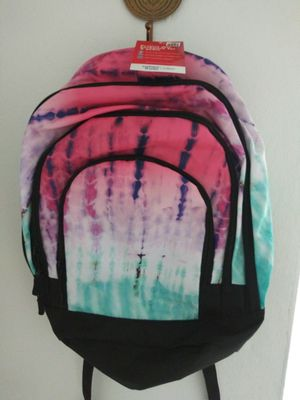 Large tie-dye backpack new with tags for Sale in Miami, FL