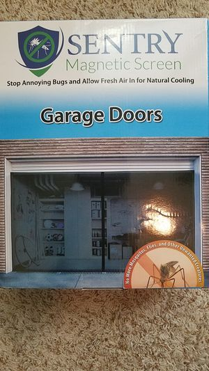 Magnetic Garage Door Screen..Turn garage into a Football Den for Sale in Austin, TX
