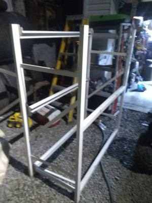 Commercial shelving very sturdy two different styles for Sale in Elkins, WV