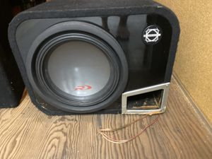 SUBWOOFER IN BOX for Sale in San Bruno, CA