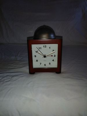 Micheal Graves Dome Bell Quartz Wood Table Alarm Clock for Sale in Grand Prairie, TX