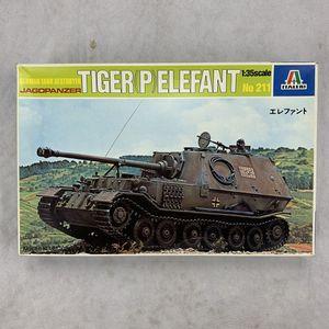 Italeri 1:35 Scale Jagdpanzer Tiger Elephant German Tank Destroyer for Sale for sale  Westminster, CA