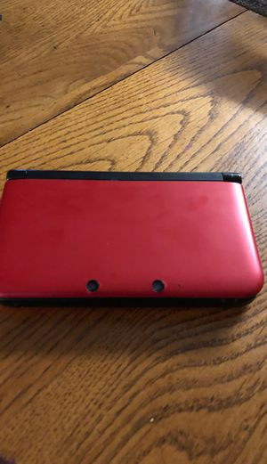Nintendo 3DS XL with super smash bros, Mario cart 7, Mario tennis, wipe out create and crash for Sale in West Valley City, UT