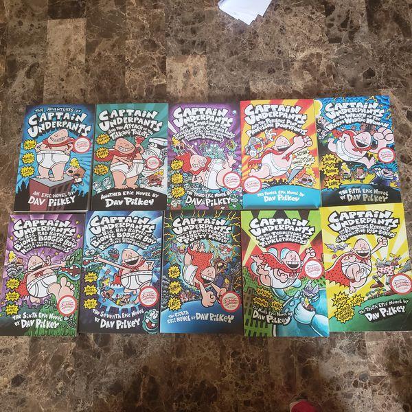 Captain underpants collection (10 books)