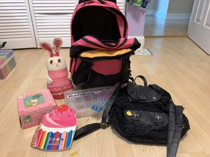 Miscellaneous Goodies, suitcase, backpack, children's toys for Sale in Miami, FL