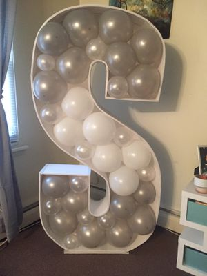 5.5 Foot Mosaic Balloon Letter for Sale in CT, US