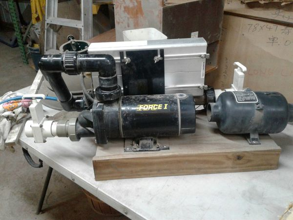 Hot Tub Replacement Pump and Blower