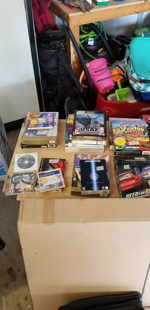 Computer games from 90s and early 2000s for Sale in Bolingbrook, IL