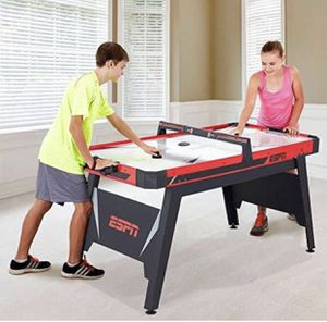 "ESPN 60"" Air-Powered Hockey Table 60 x 30 x 32 inch (LWH) for Sale in Austin, TX"