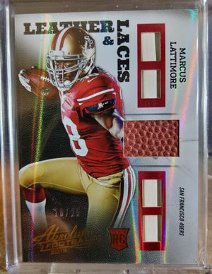 Marcus Lattimore - Leather & Laces RC Patches! Great Card! for Sale in Monroe, LA