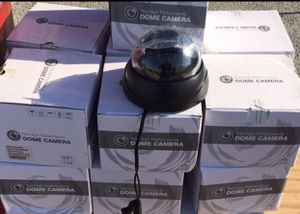 WHOLESALE LIQUIDATION 20 cameras for $100 Or 100 cameras for $400 firm brand new 700TVL Indoor black dome 100% high quality Retails around $45 ea for Sale in Davie, FL