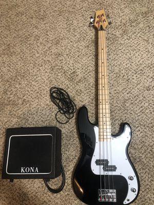 Kona Bass Guitar and Kona KB 10 Amp for Sale in Smyrna, TN