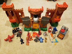 Imaginext Castle and accessories for Sale in Aldie, VA