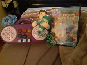 Blues Clues vintage Collectible Sing a Long toy and DVD. Toy is from 1998 for Sale in Bradenton, FL