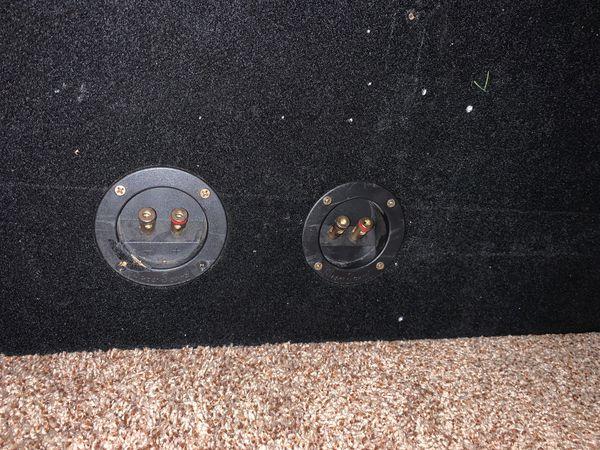 Two Memphis M5 Subwoofers