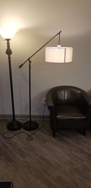 Floor lamps. Selling both. Read description for Sale in Atlanta, GA
