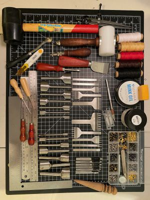 Leather tools kit for Sale in Brooklyn, NY
