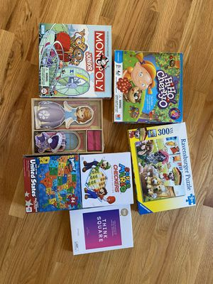 Games/puzzles for Sale in Issaquah, WA