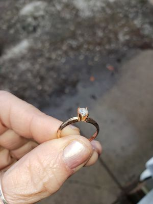 Diamond Engagement ring in 14 kt ROSE GOLD for Sale in Rocky River, OH