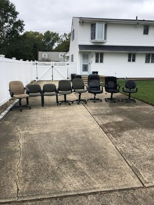 Office desk chairs for Sale in Merrick, NY