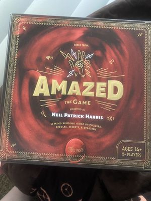 Amazed board game for Sale in Hudson, FL